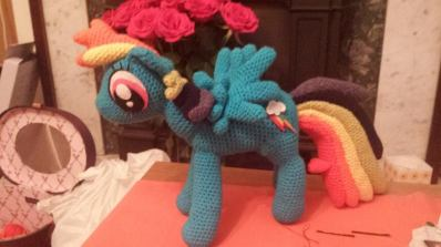 My first My Little Pony - Rainbow Dash
