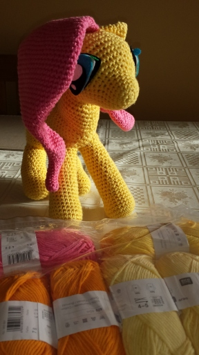 Fluttershy in the making
