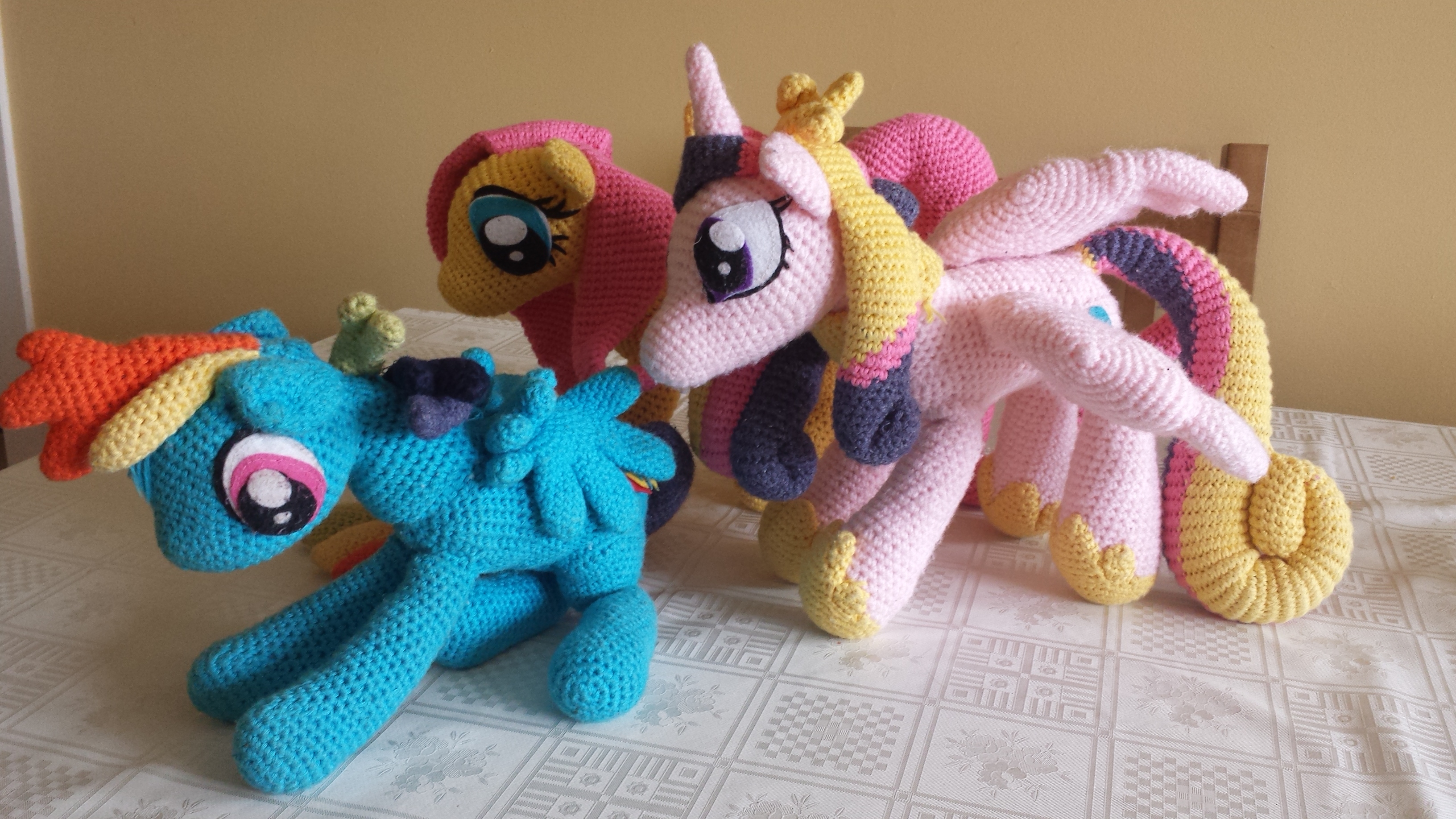 Amigurumi Pony Tutorial : My Little Pony Amigurumi PEEKO CRAFTS