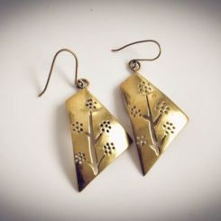 Tree of Life Large Earrings by Banteay Srey Boutique €44.42 http://bit.ly/1Pg35Ia