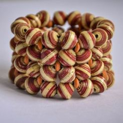 Bead Cuff by Banteay Srey Boutique €17.01 http://bit.ly/1RaOdKi