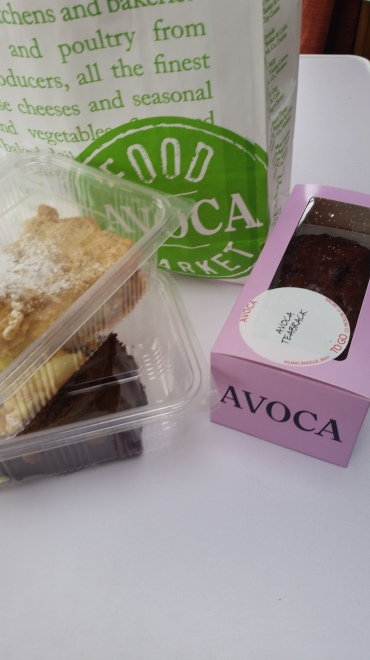 We stopped off at Avoca Mill on the way for some cake