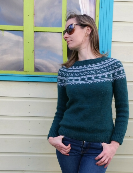 Sundottir by Diana Walla in Cascade 220 Heathers